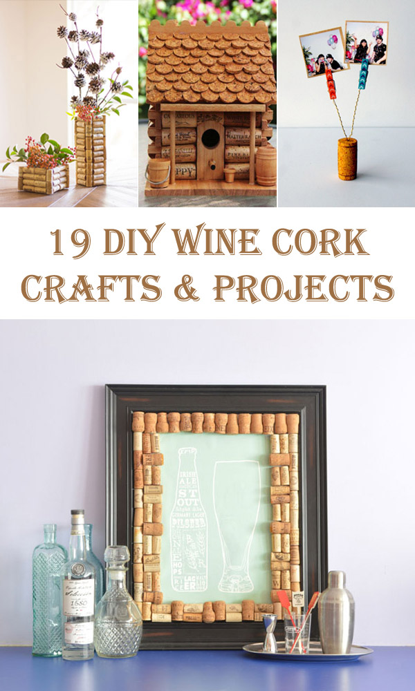 19 Clever DIY Wine Cork Crafts and Projects