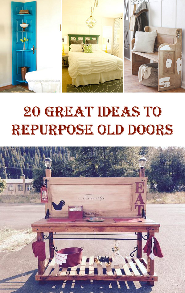 0 Great Ideas to Repurpose Old Doors
