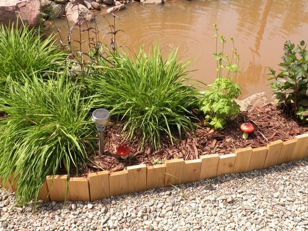 Cedar Garden Edging