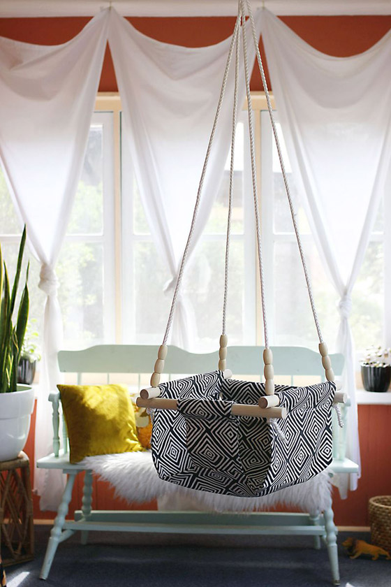DIY Baby and Toddler Swing Chair
