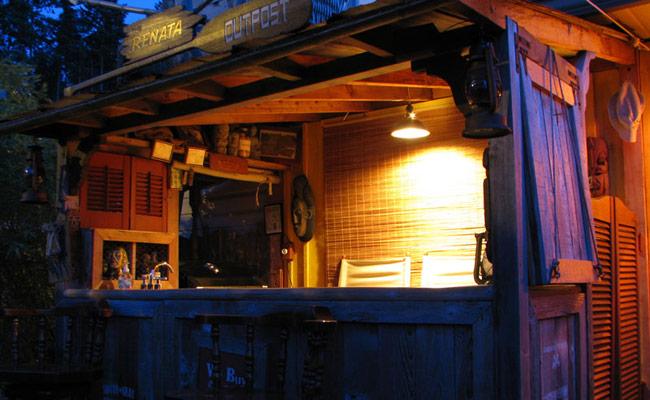 DIY Backyard Tiki Bar