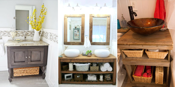 DIY Bathroom Vanity Ideas