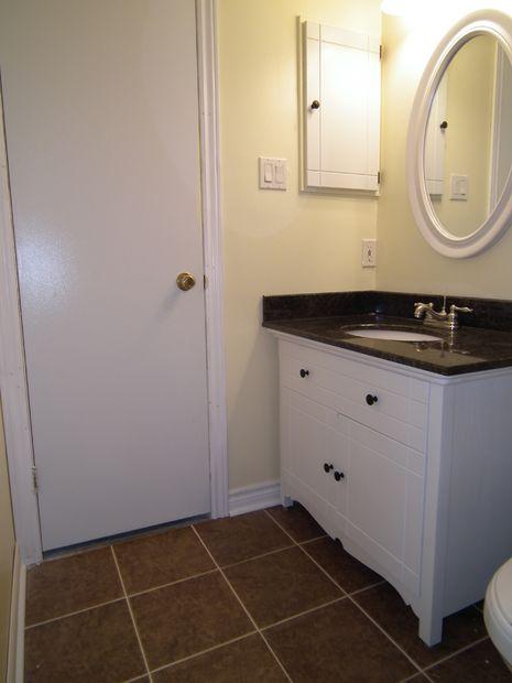 DIY Bathroom Vanity out of an Old Dresser
