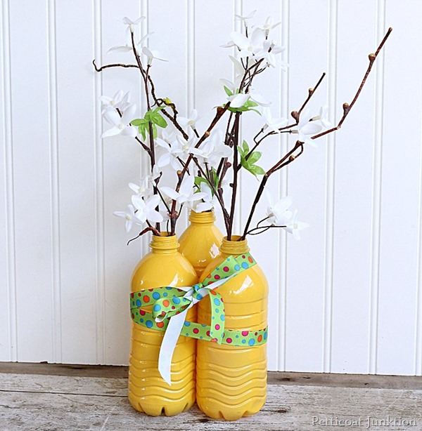 DIY Colorful Decorative Vases