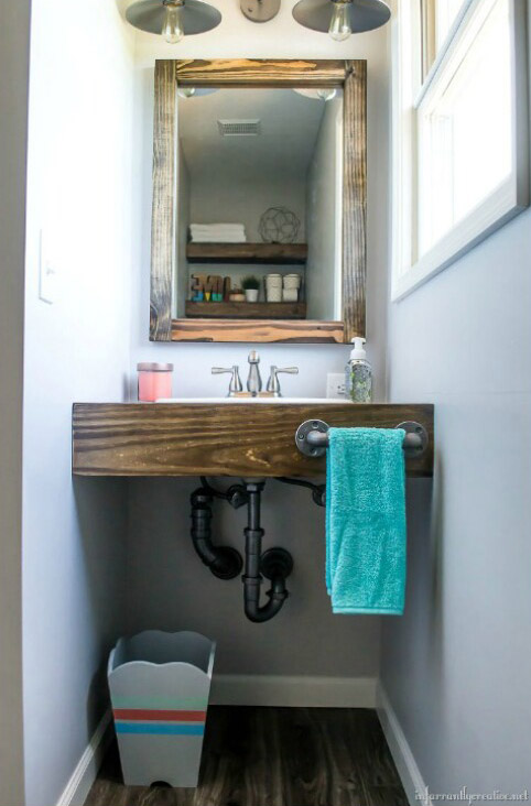 13 Gorgeous Diy Bathroom Vanity Ideas Diys To Do