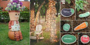 10 Awesome DIY Garden Decoration Ideas
