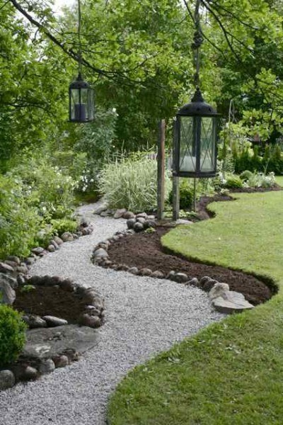 DIY Gravel Path