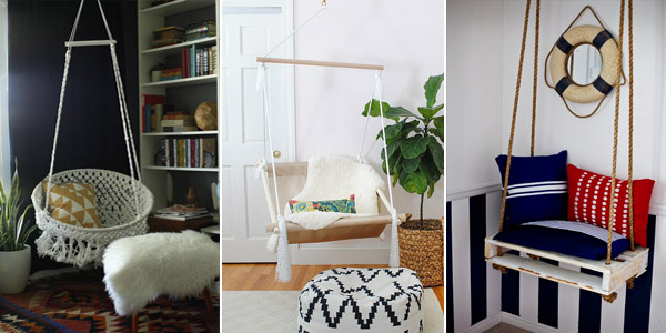 DIY Hanging Chairs Projects
