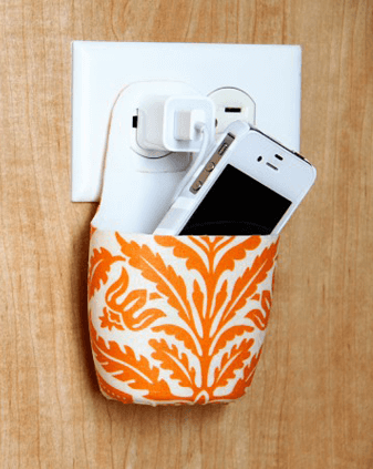 DIY Holder for Charging Cell Phone