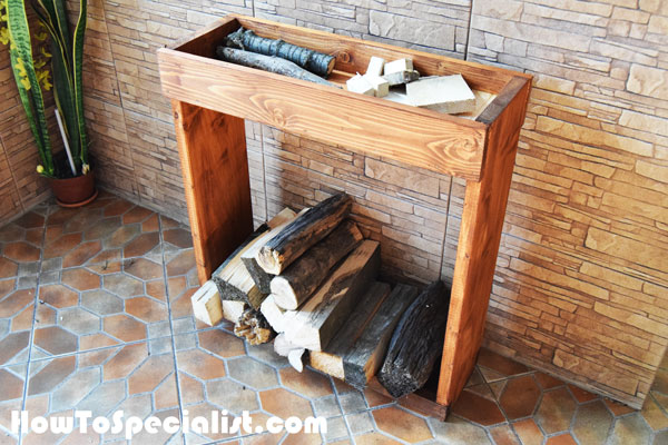 10 Indoor Firewood Storage Ideas – Diys To Do