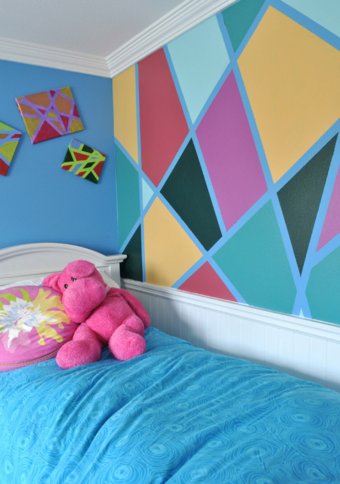 DIY Modern Art Wall Design
