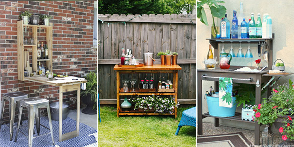 DIY Outdoor Bar Ideas