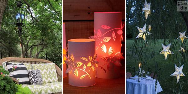 10 Best DIY Outdoor Lighting Ideas