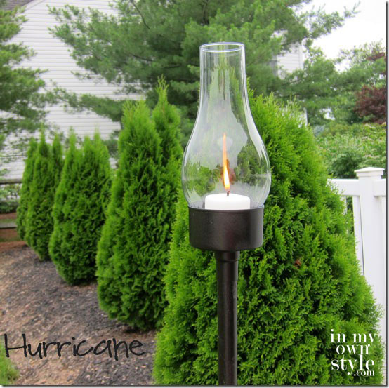 DIY Outdoor Tuna Can Lantern