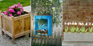 13 Awesome DIY Planter Box Plans and Ideas