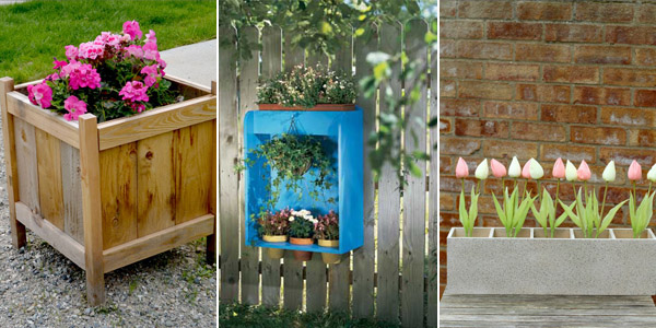 DIY Planter Box Plans and Ideas
