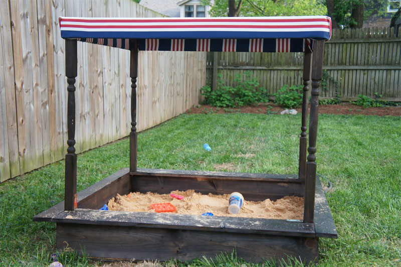 DIY Pottery Barn Sandbox