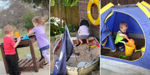 15 Gorgeous DIY Sandbox Ideas