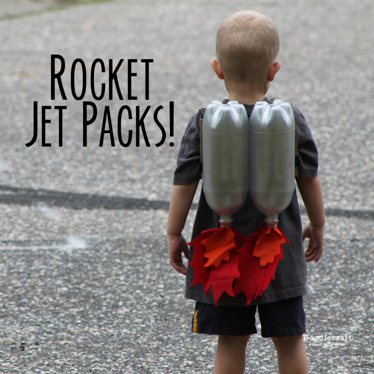DIY Super Sci-Fi Rocket Fueled Jet Pack