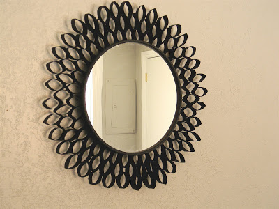 DIY Toilet Paper Roll Mirror