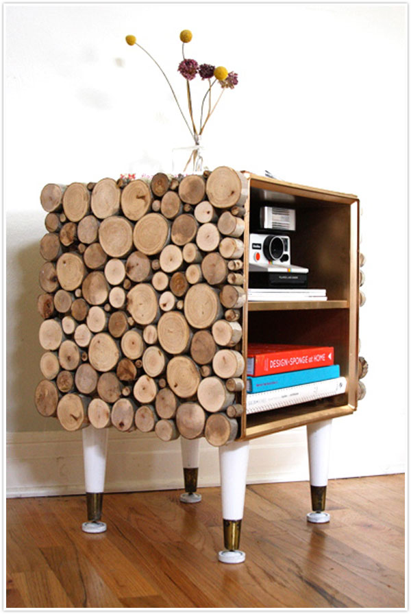 15 amazing diy log ideas diys to do diy tree to table solutioingenieria Gallery