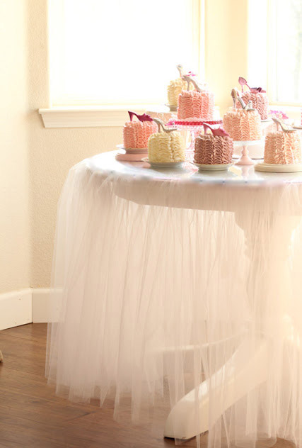 DIY Tutu Tablecloth