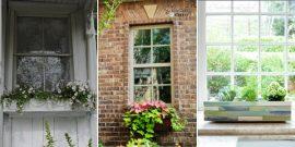 15 Gorgeous DIY Window Box Planters