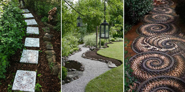 11 Lovely Garden Path And Walkway Ideas