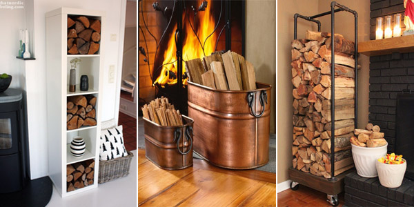 10 Indoor Firewood Storage Ideas Diys To Do