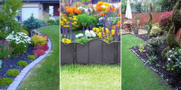 Lawn and Garden Edging Ideas