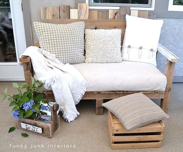 Pallet Wood Sofa
