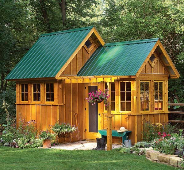 The Ultimate Garden Shed