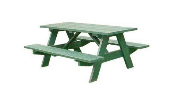 Traditional 6 Foot Picnic Table Plans