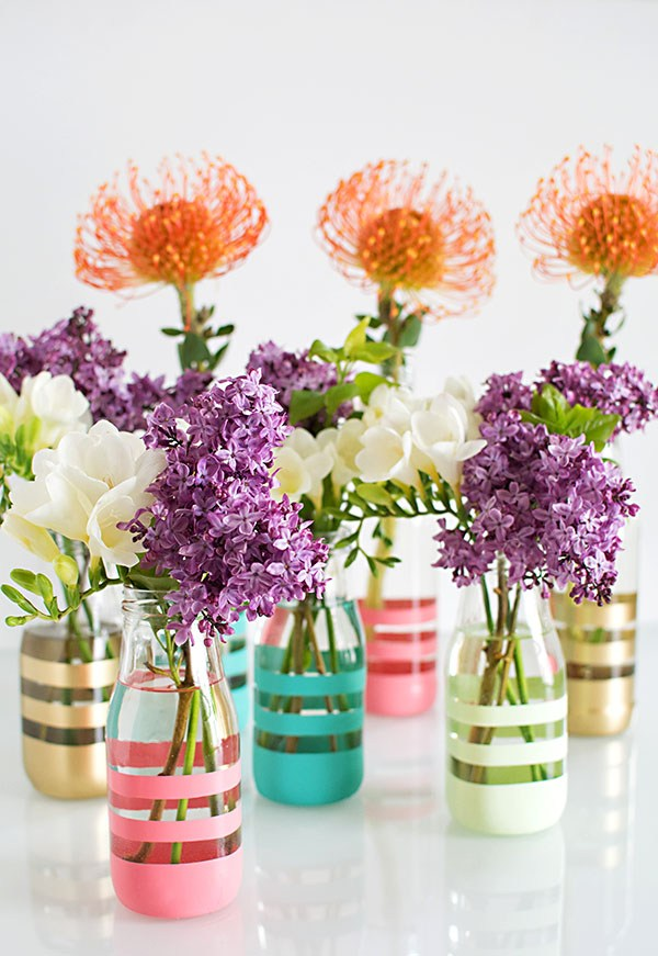 Upcycling Glass Bottles Into Vases