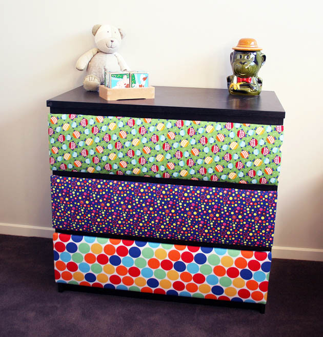 Upholstered Drawers