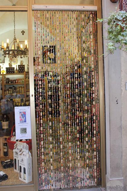 Wine Cork Curtains