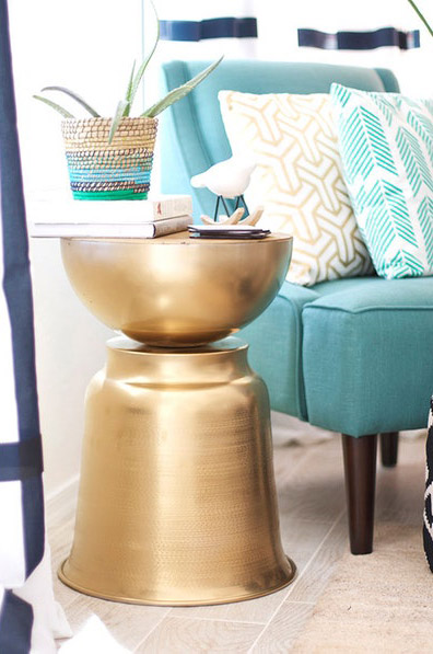West Elm-Inspired Side Table
