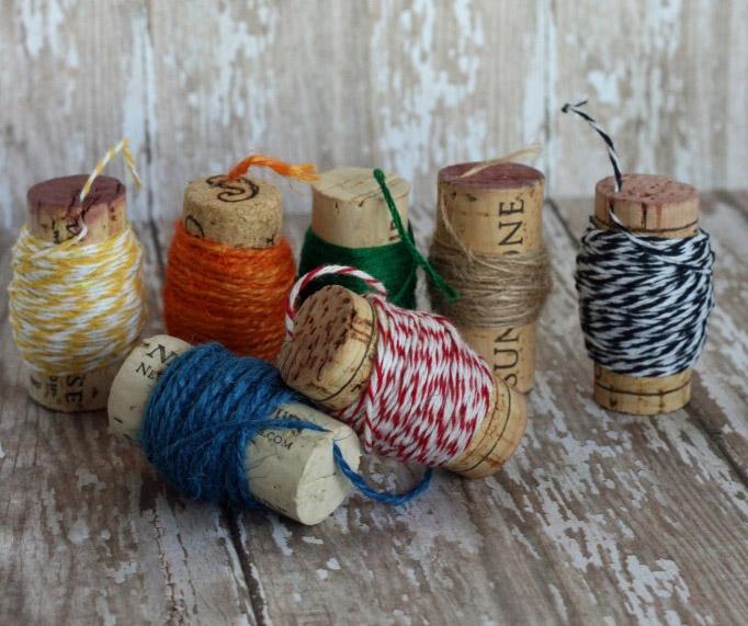 Wine Cork Spools