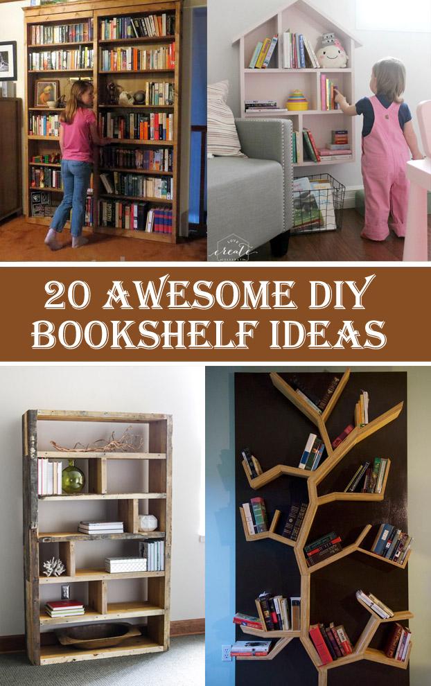 books diy to bookshelf bookcase plans your mounted unit ideas shelving book organize precious