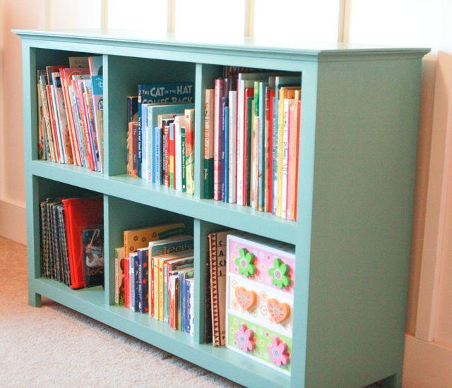DIY 6 Cube Bookshelf