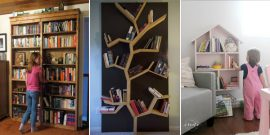 20 Awesome DIY Bookshelf Ideas