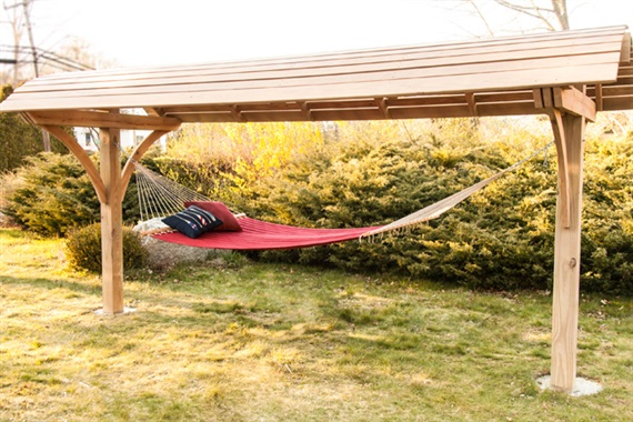 DIY Hammock Shelter