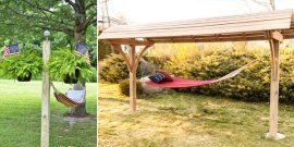 12 DIY Hammock Stands For Total Relaxation