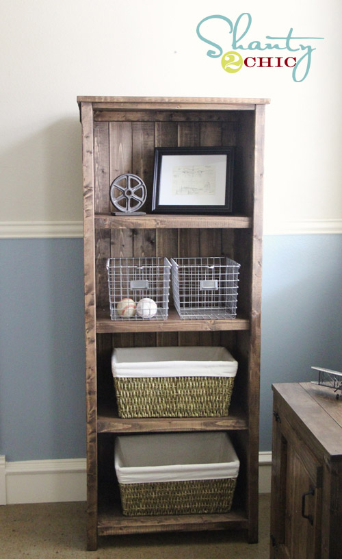 DIY Kentwood Bookshelf