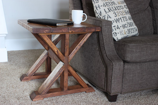 DIY Lybrook Side Table