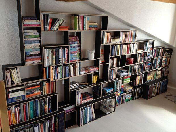 DIY Modular Bookshelf