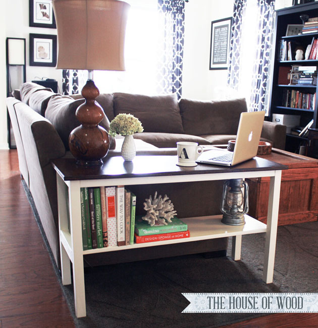 DIY Perfect End Table