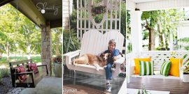 10 Free DIY Porch Swing Plans & Ideas