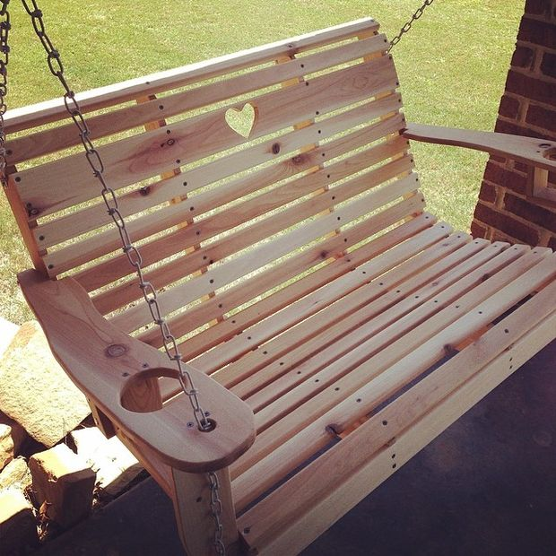 DIY Porch Swing by Instructables