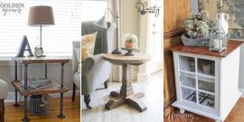 20 Stylish DIY Side & End Table Plans